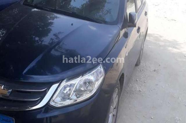 Optra Chevrolet Dark blue