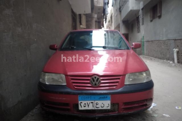 Pointer Volkswagen احمر غامق