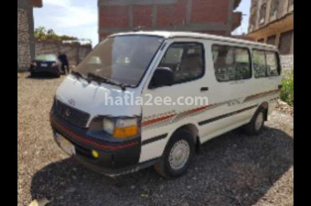 Microbus Toyota White