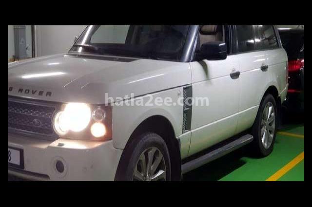 Range Rover Land Rover أبيض