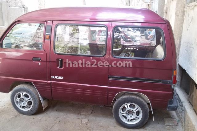 Van Suzuki Dark red