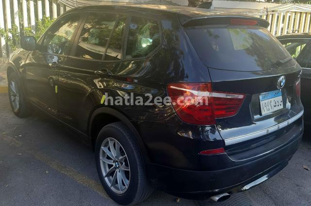 X3 BMW أسود