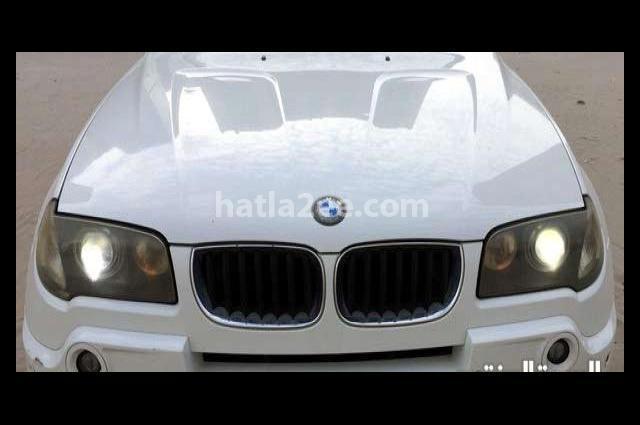 X3 BMW White