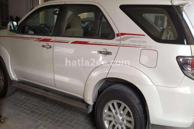 Fortuner Toyota أبيض