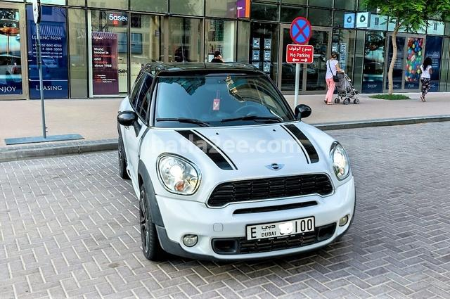 Country man Mini أبيض