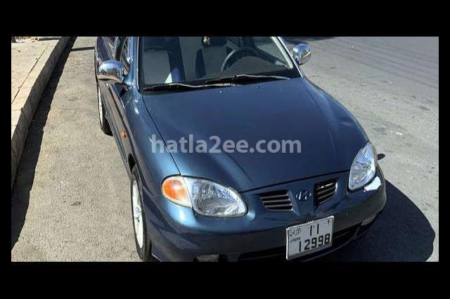Avante Hyundai الأزرق الداكن