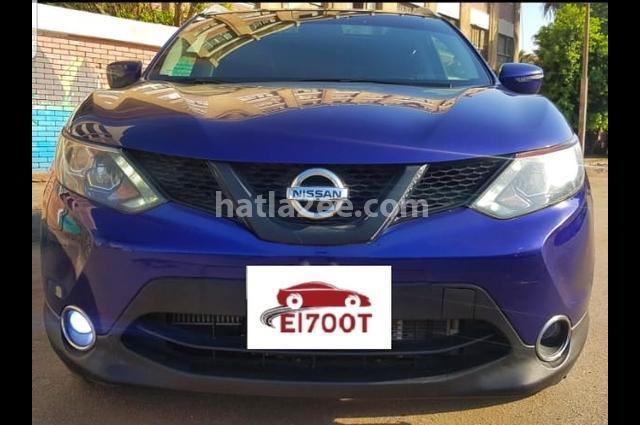 Qashqai Nissan Blue
