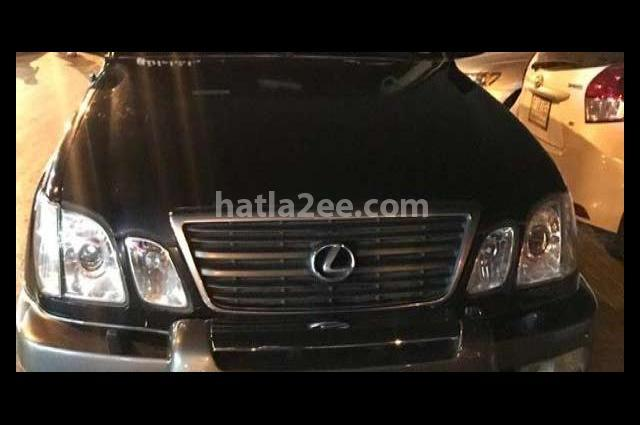 Lx Lexus أسود