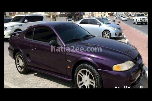 Mustang Ford Purple