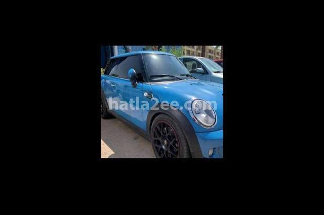 Mini Cooper S Mini أزرق