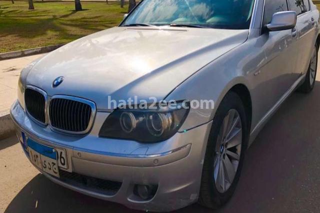 740 BMW فضي