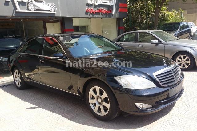 S Class Mercedes Black