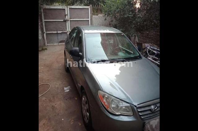 Elantra Hyundai Gray