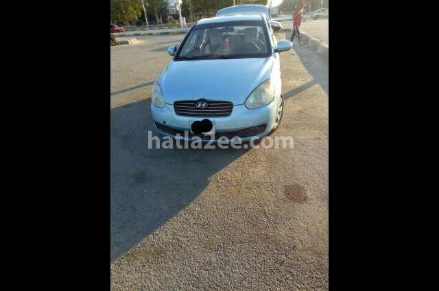 Accent Hyundai Dark blue