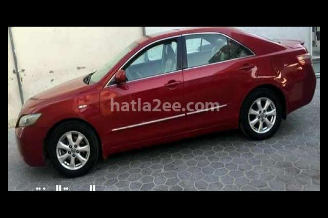 Camry Toyota احمر