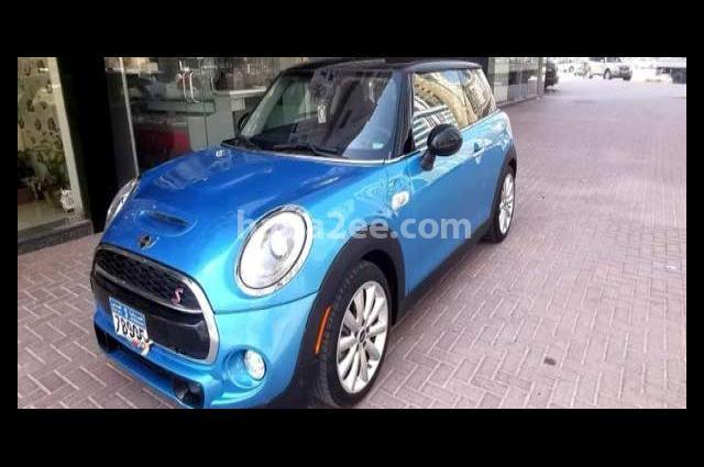 Cooper Mini Blue