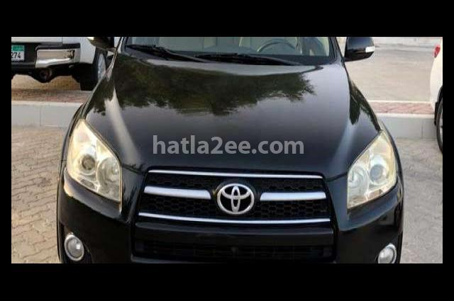 Rav 4 Toyota أسود