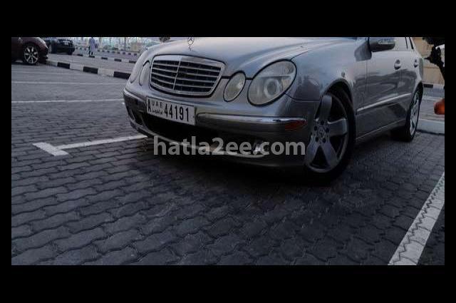 E 500 Mercedes رمادي