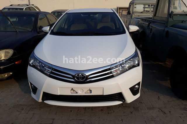 Corolla Toyota White