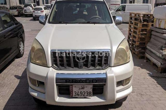Prado Toyota Silver