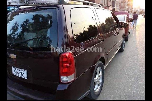 Uplander Chevrolet Dark red