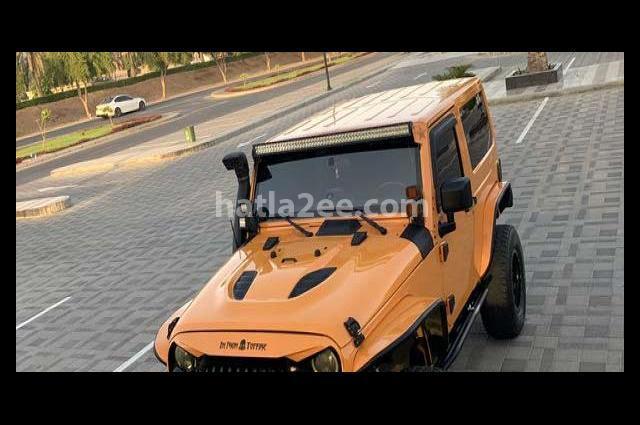 Wrangler Jeep برتقالى