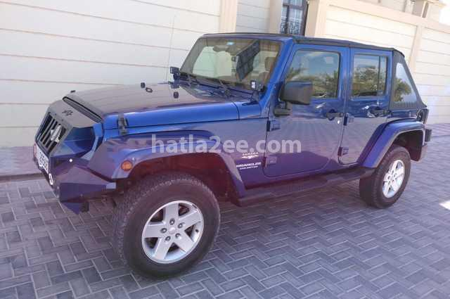 Wrangler Unlimited Jeep Blue