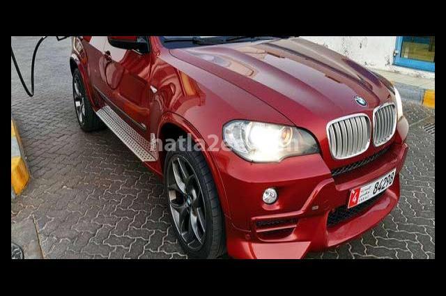 X5 BMW Dark red
