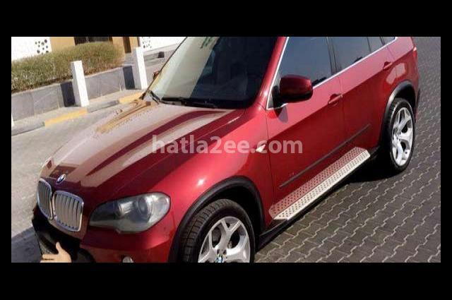 X5 BMW احمر غامق