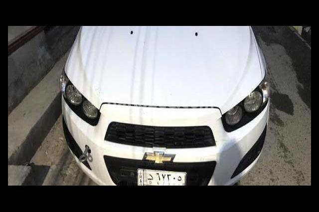 Sonic Chevrolet أبيض