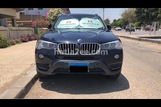 X3 BMW Dark blue