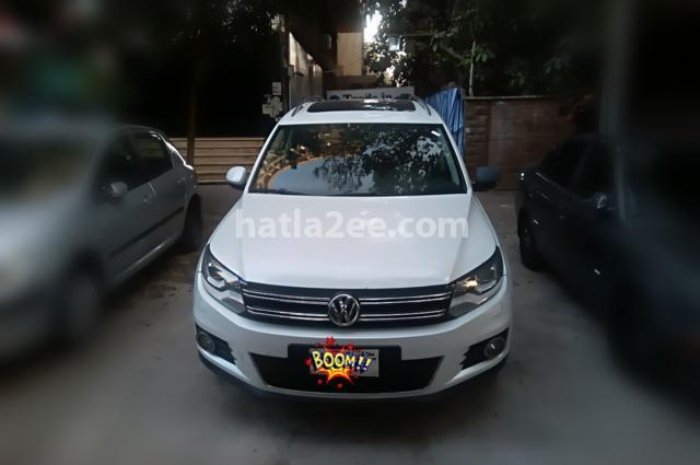 Tiguan Volkswagen أبيض