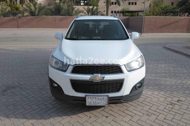 Captiva Chevrolet أبيض