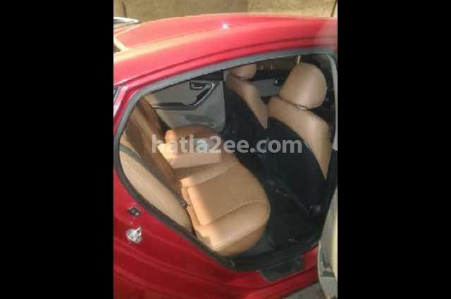 Elantra MD Hyundai Red