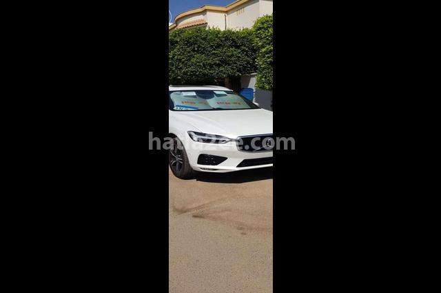 XC60 Volvo أبيض