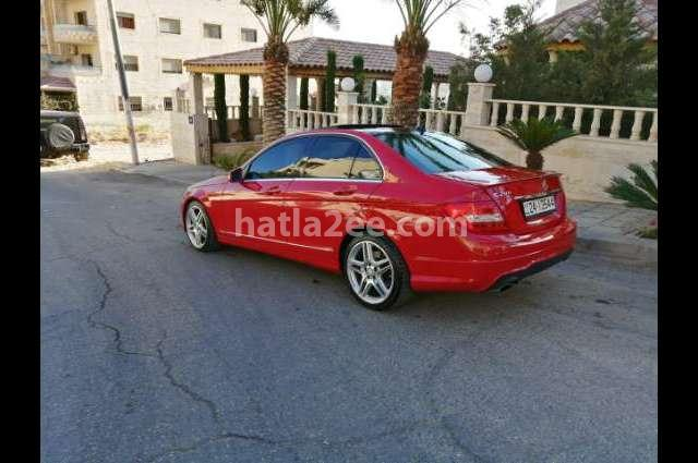 C 200 Mercedes Red
