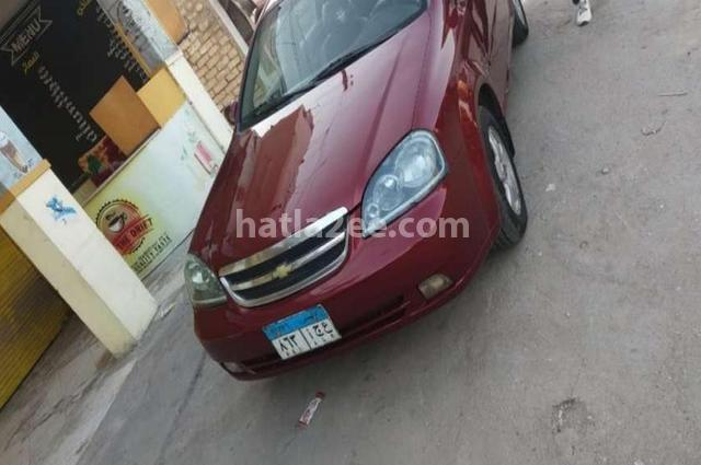 Optra Chevrolet Dark red