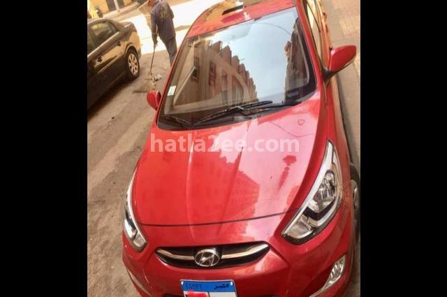 Accent Hyundai Red