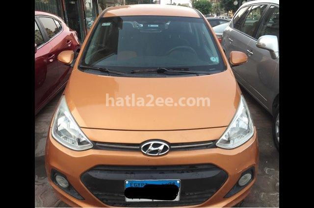 Grand i10 Hyundai برتقالى