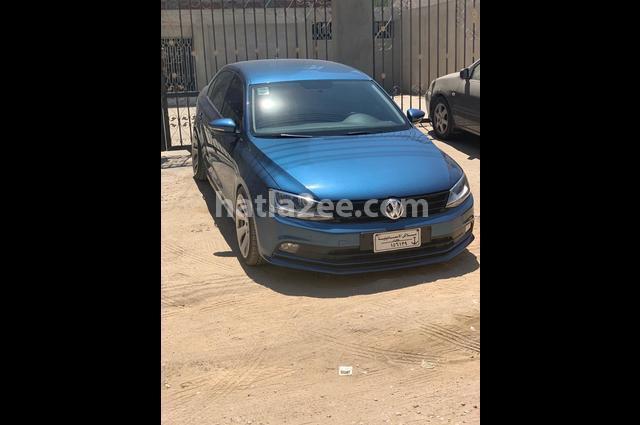 Jetta Volkswagen Blue