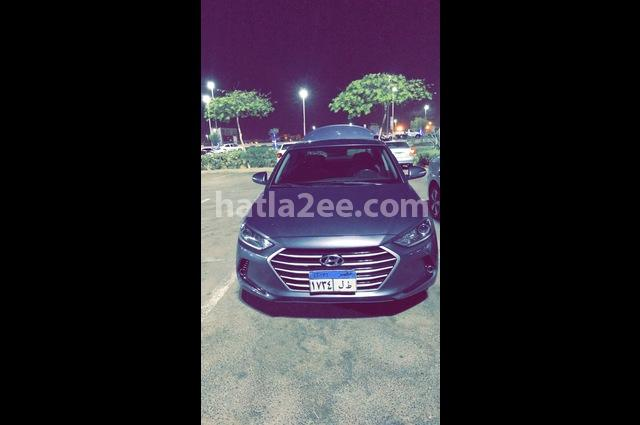 Elantra AD Hyundai Gray