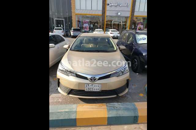 Corolla Toyota Gold