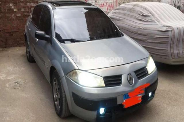 Megane Renault Silver