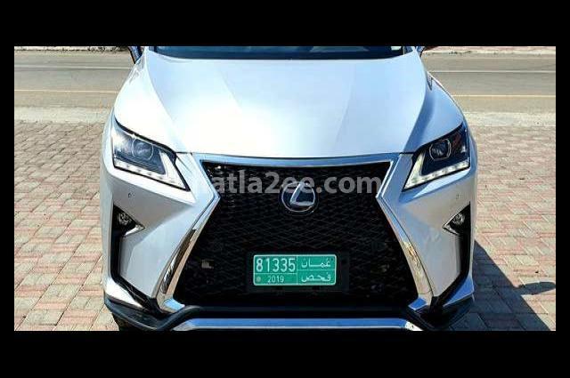 Rx Lexus Silver