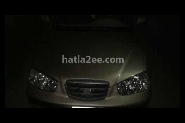 Elantra Hyundai Beige