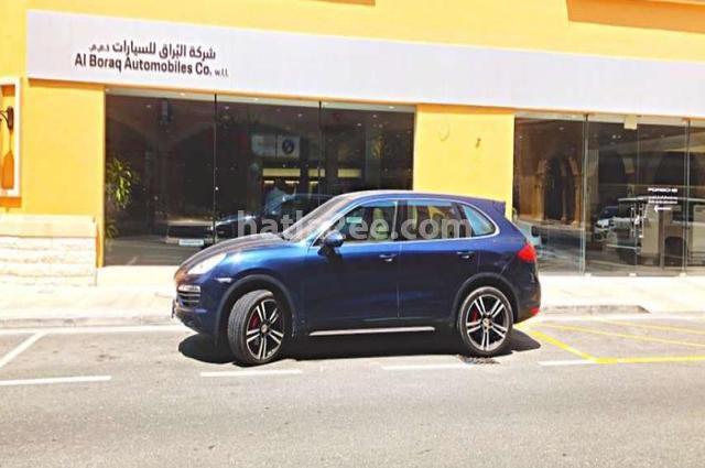 Cayenne Porsche أزرق