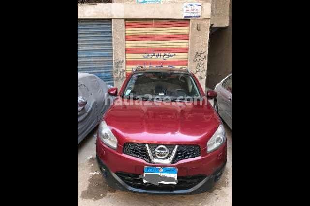 Qashqai Nissan Red
