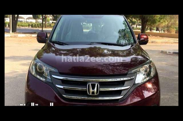CRV Honda Dark red
