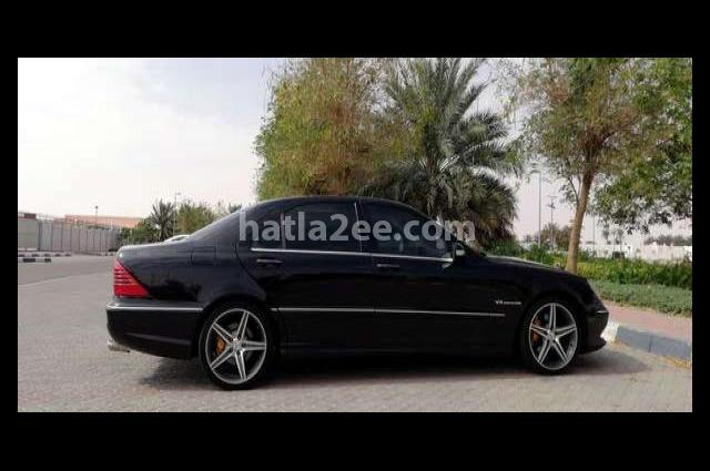 SLK 55 AMG Mercedes أسود