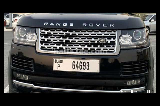 Vogue Land Rover Black